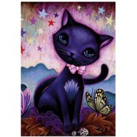 DIY 5D Cat Diamond Paintings Cross Stitch Mosaic Embroidery Kits Home Decor
